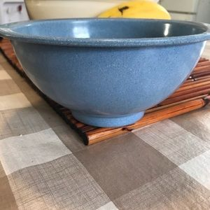 Vintage blue melmac 5 cup mixing bowl